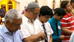 Latino Converts to Islam; John Unger; Shinnyo Lanterns