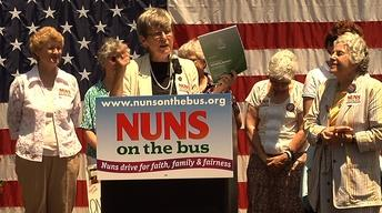 Nuns on the Bus: Preaching the Faithful Budget