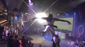 TV Takeover - Circus Juventas | Static Trapeze
