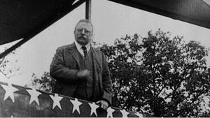 Theodore Roosevelt was a larger-than-life character.
