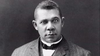 Booker T. Washington at the White House