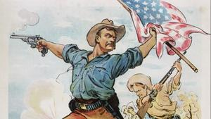 After the Spanish-American War, Theodore Roosevelt becomes an American Hero