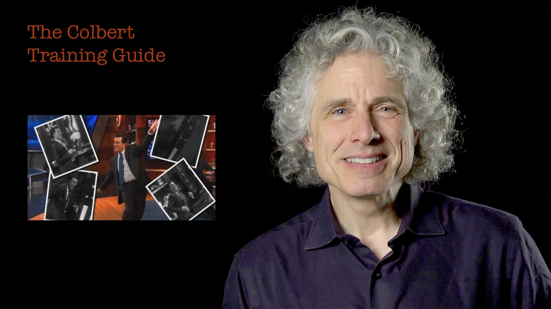 Steven Pinker: The Colbert Training Guide image