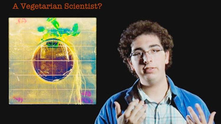 Alan Sage: A Vegetarian Scientist? image