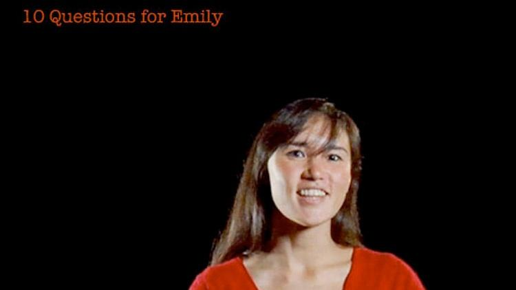 Emily Whiting: 10 Questions for Emily image