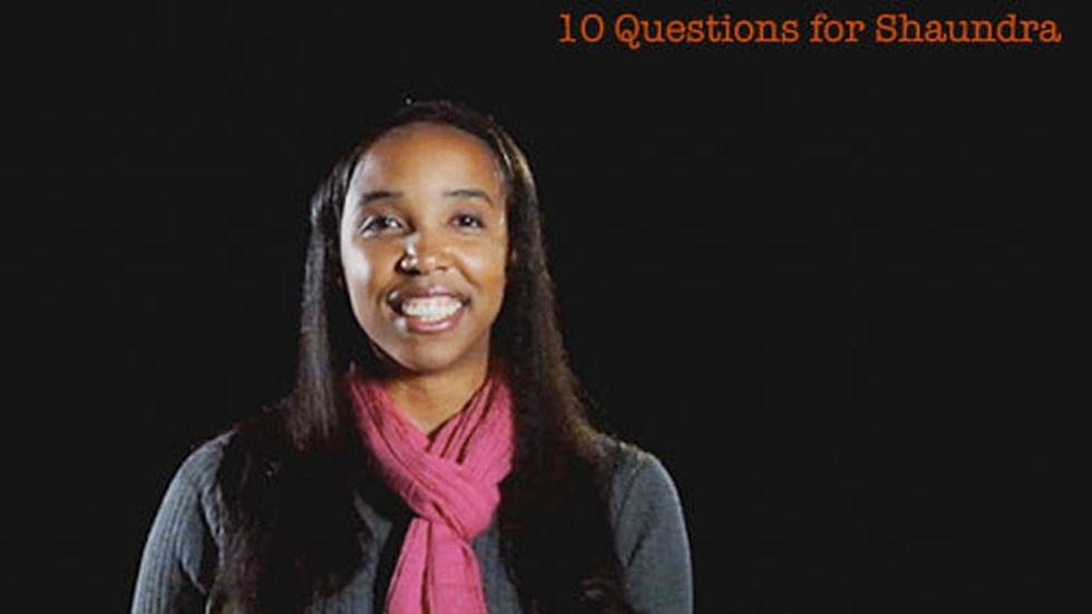 S2011 Ep28: Shaundra Daily: 10 Questions for Shaundra image