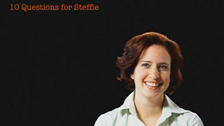Steffie Tomson: 10 Questions for Steffie image