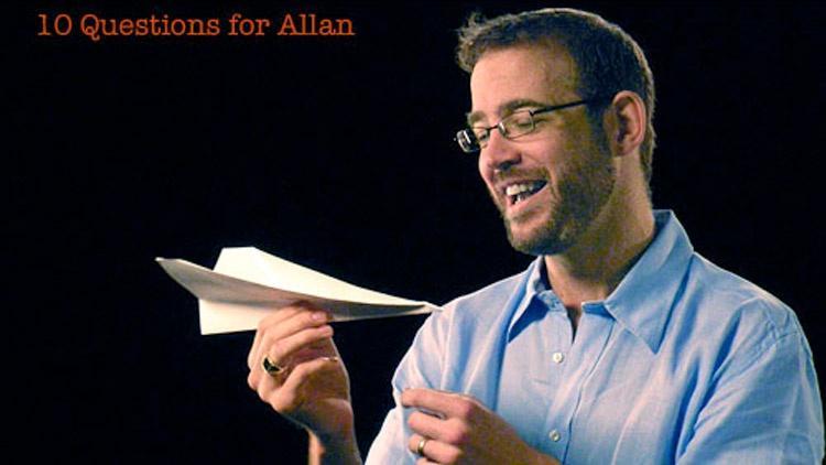 Allan Adams: 10 Questions for Allan image