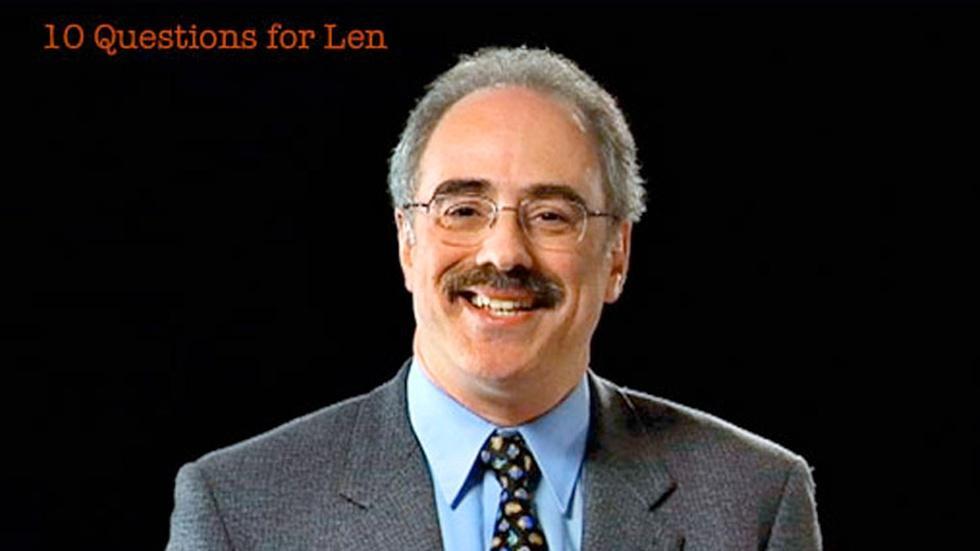 S2010 Ep60: Len Zon: 10 Questions for Len image