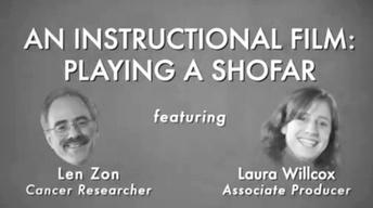 Len Zon: Instructional Film: Playing a Shofar