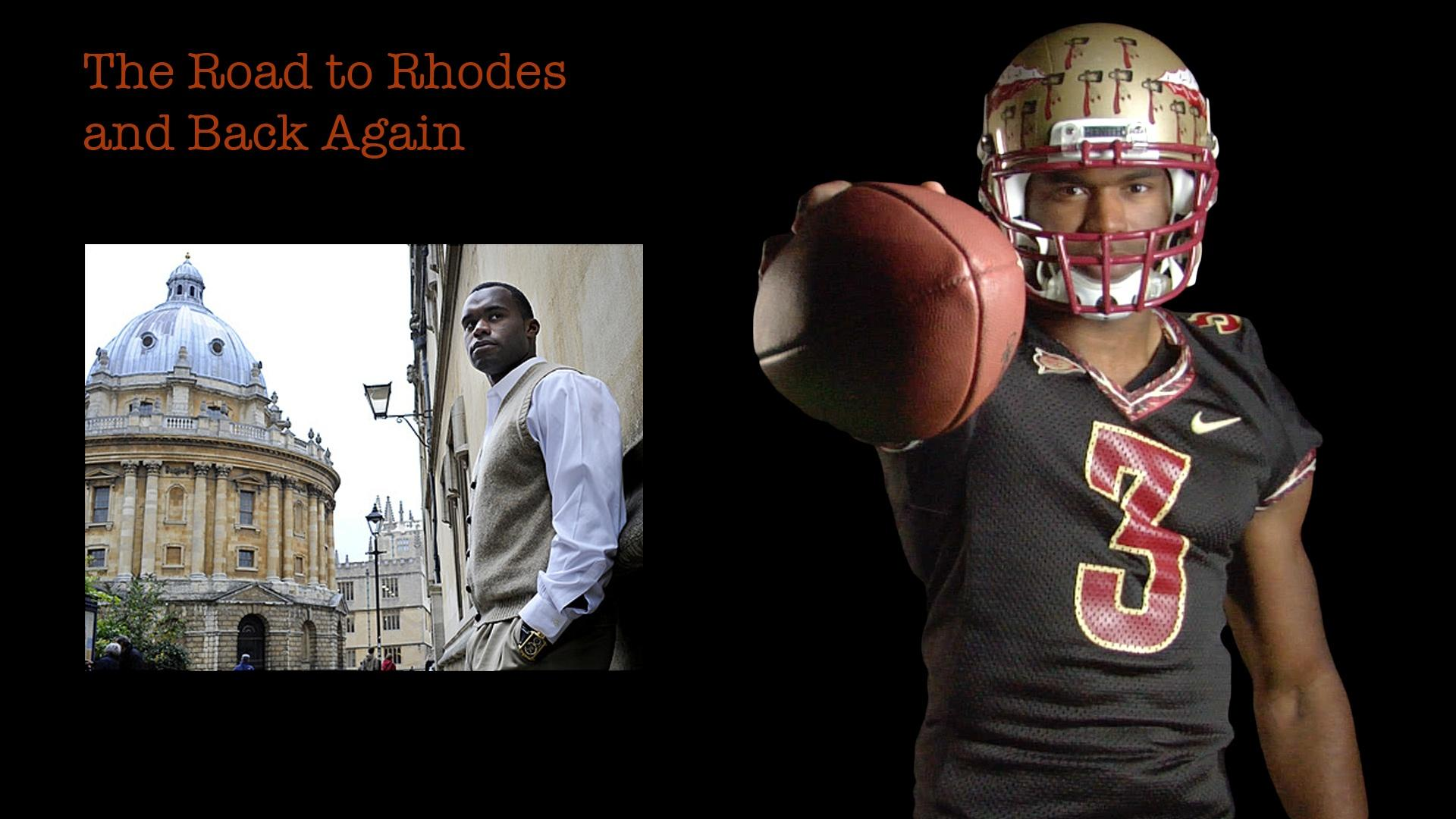 Myron Rolle: The Road to Rhodes and Back Again image