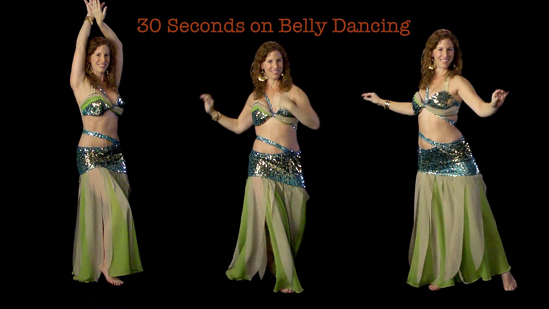 Kate Sweeny: 30 Seconds on Belly Dancing image