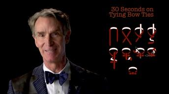 Bill Nye: 30 Seconds on Tying Bow Ties image