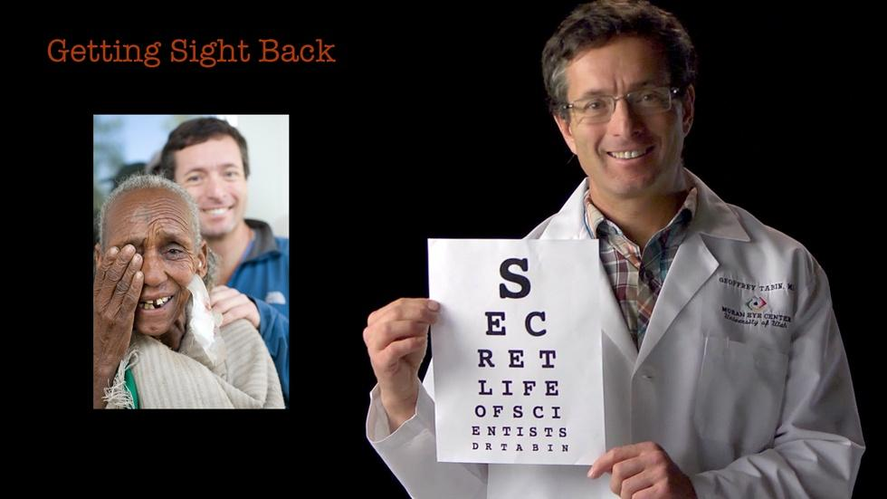 Geoff Tabin: Getting Sight Back image