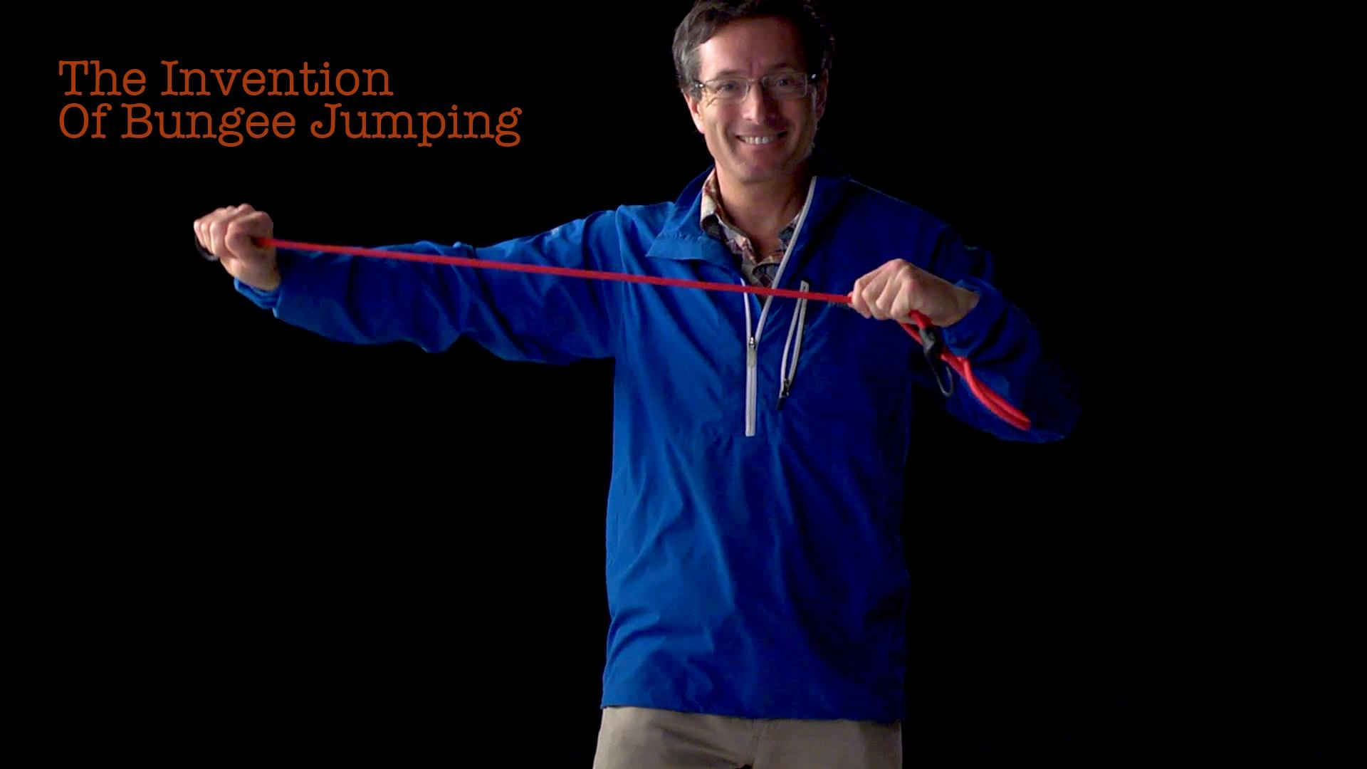 Geoff Tabin: The Invention Of Bungee Jumping image