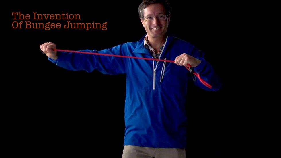 S2014 Ep28: Geoff Tabin: The Invention Of Bungee Jumping image