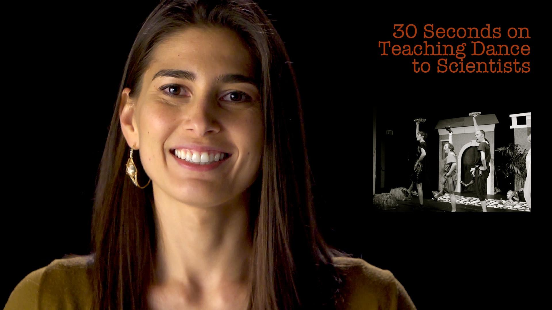 Crystal Dilworth: 30 Seconds on Teaching Dance to Scientists image