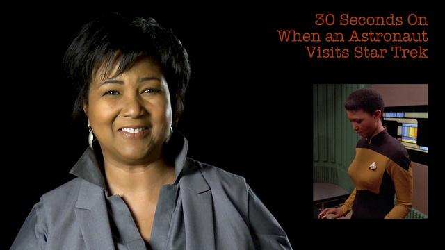 Mae Jemison: 30S on When An Astronaut Visits Star Trek