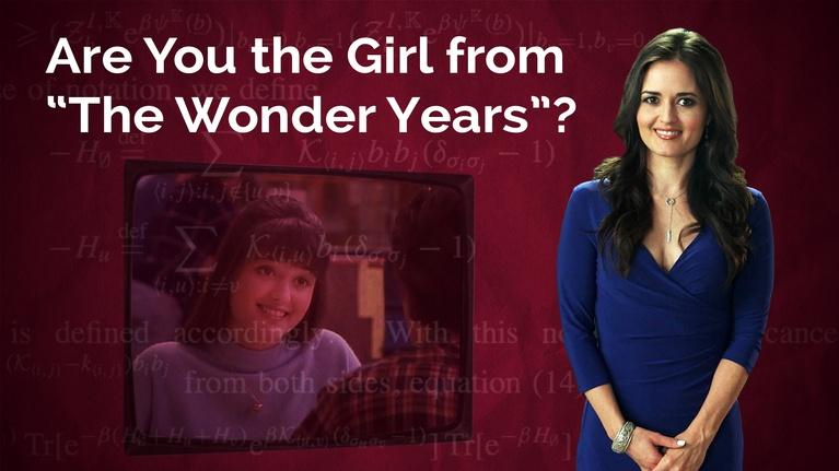 "S2016 Ep14: Danica McKellar: Are You the Girl from ""The Wond"