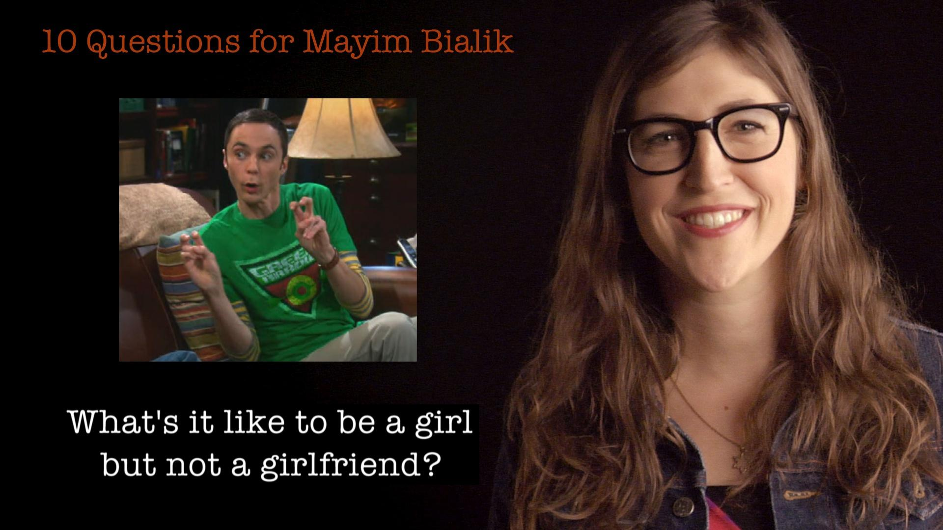 10 Questions for Mayim Bialik image