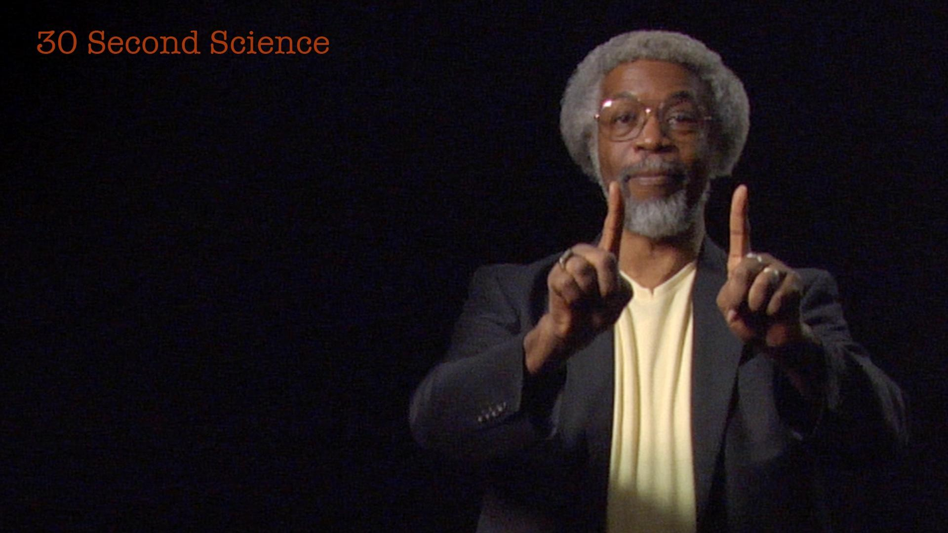30 Second Science: Jim Gates image