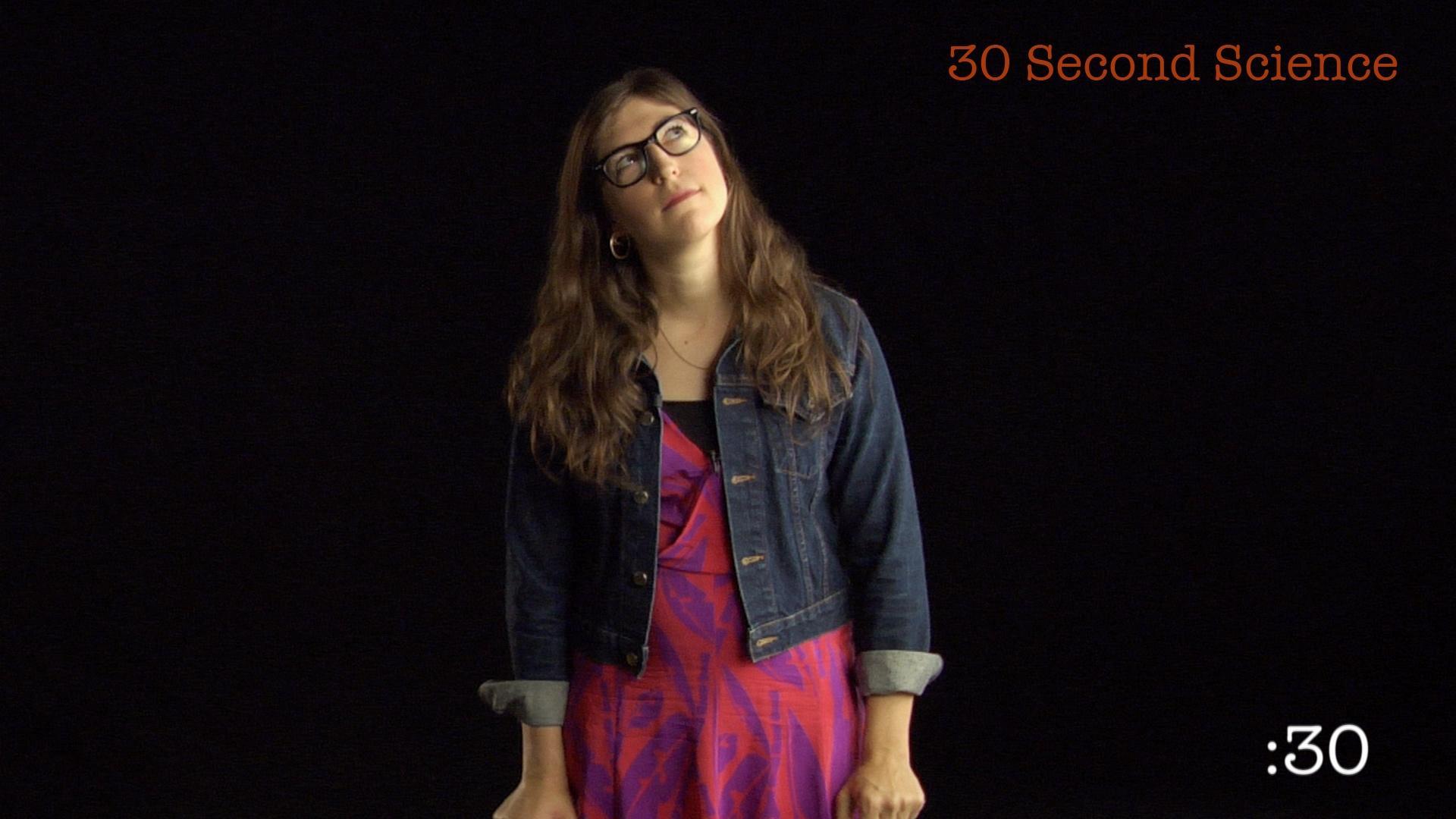 30 Second Science: Mayim Bialik image