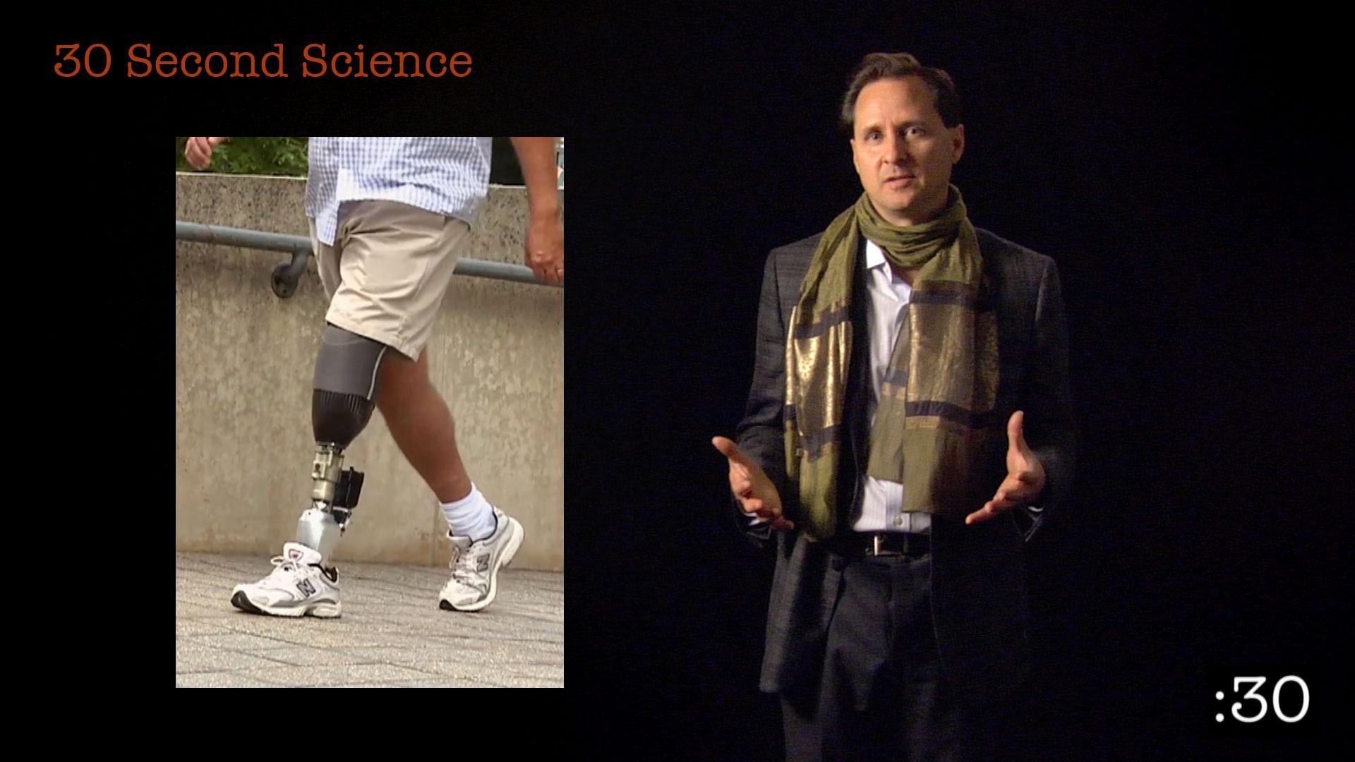 30 Second Science: Hugh Herr image