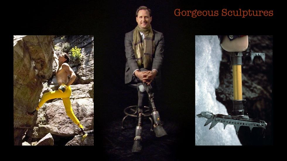Hugh Herr: Gorgeous Sculptures image