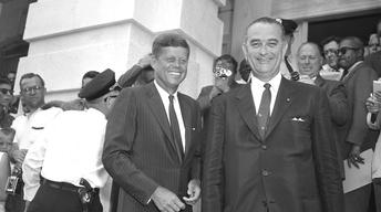 S14 Ep11:  JFK & LBJ: A Time for Greatness