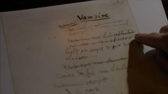 S15 Ep1: Bram Stoker's Notes and Research for Dracula