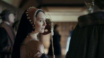 Anne Boleyn is Overheard Flirting with a Courtier