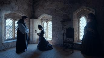 Anne Boleyn Gives Her Last Confession Before She is Executed