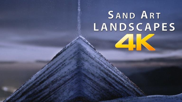 Sand Art Landscapes