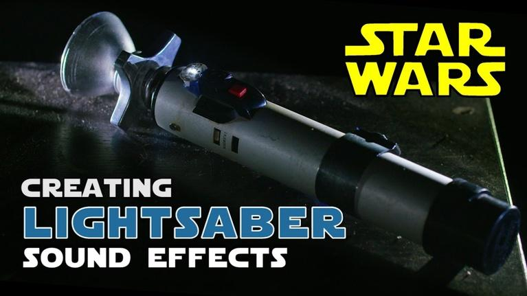 How to create Star Wars Lightsaber sound effects