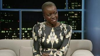 Actress-playwright Danai Gurira image