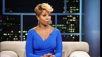 Singer-songwriter-actress Mary J. Blige