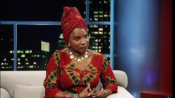 Singer-songwriter Angelique Kidjo