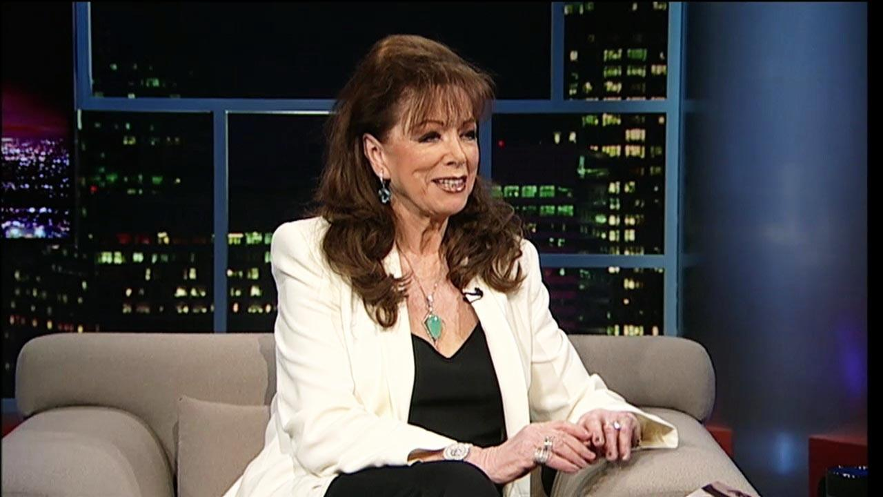 Writer Jackie Collins image