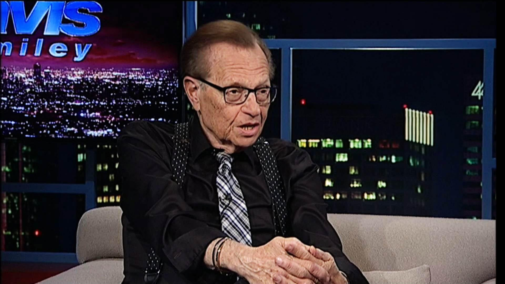 Talk show host Larry King image