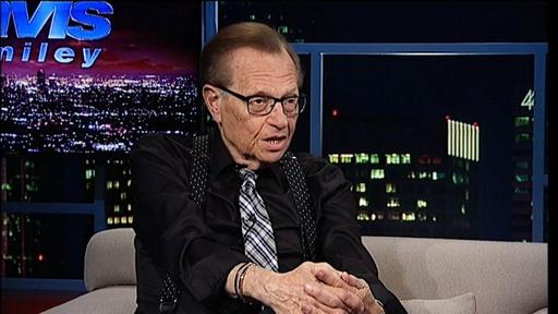 Talk show host Larry King Video Thumbnail