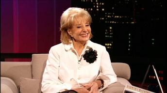 Broadcast journalist Barbara Walters