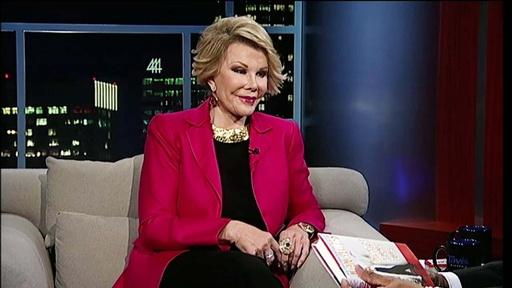 Comedienne Joan Rivers – Part 1 Video Thumbnail
