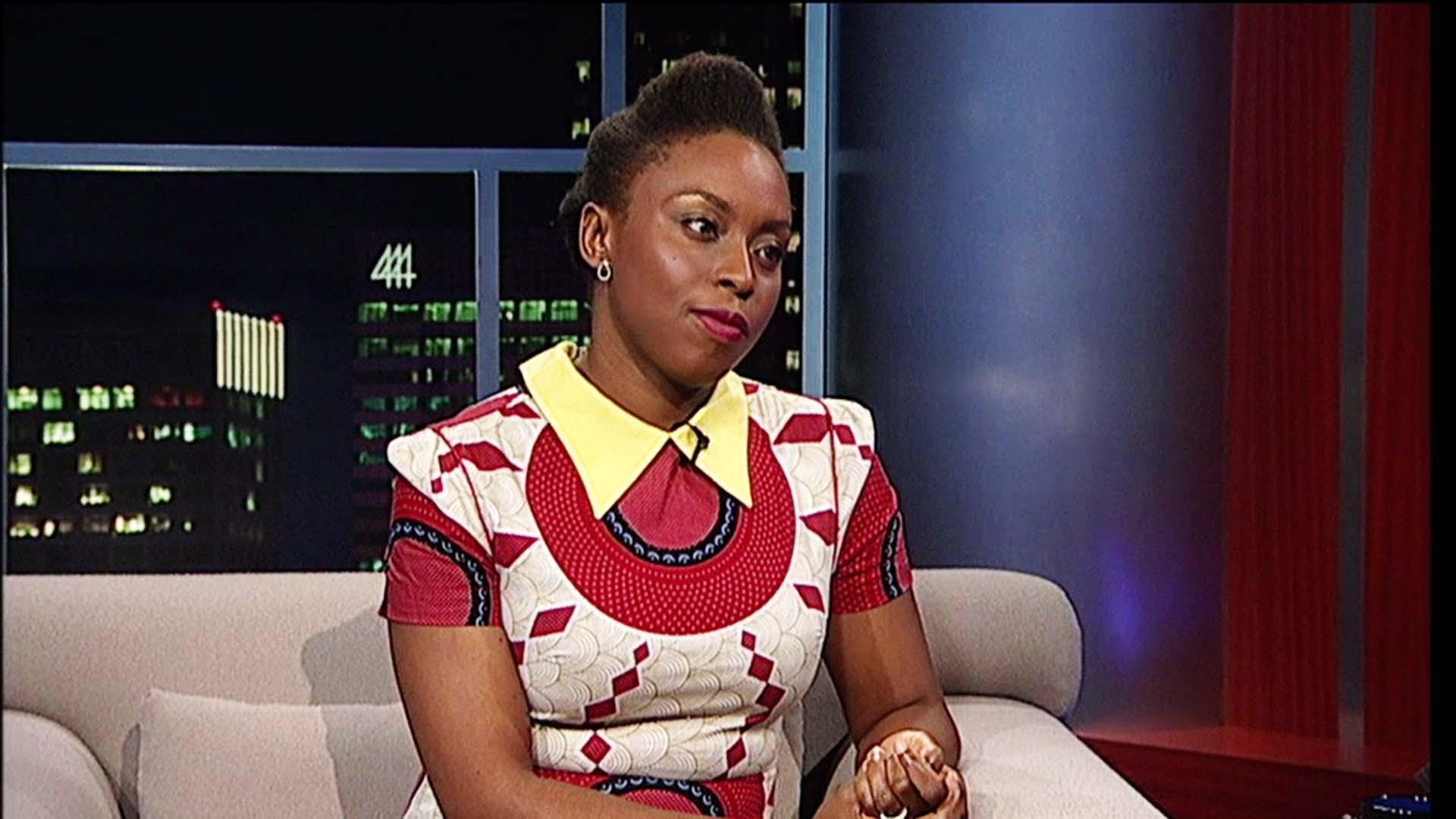 Writer Chimamanda Ngozi Adichie