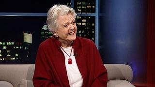 Actress Dame Angela Lansbury