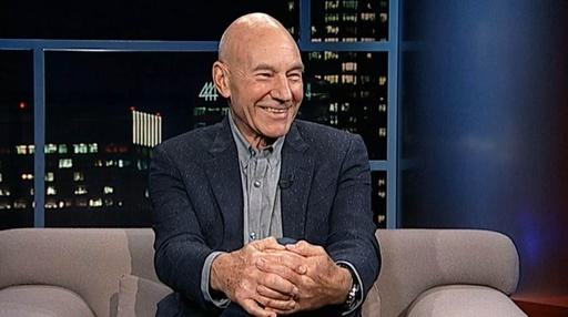 Actor Patrick Stewart Video Thumbnail