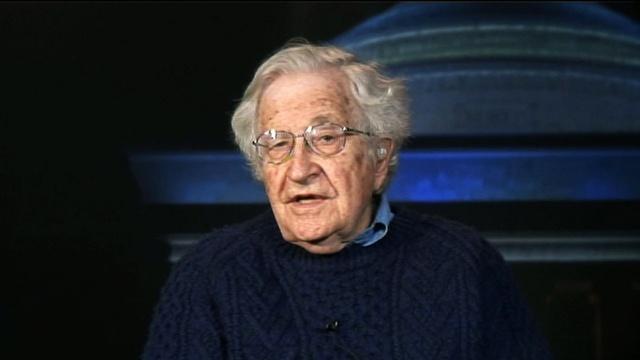 MIT Professor Noam Chomsky