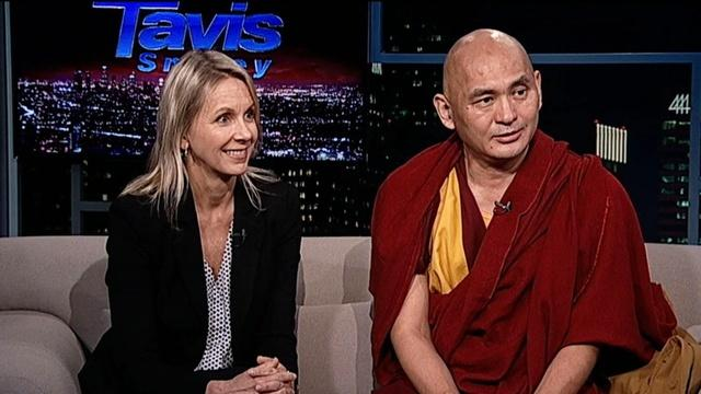 The Ven. Lama Tenzin Dhonden & Kelly Thornton Smith