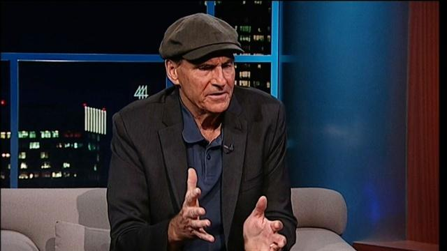 Singer/Songwriter James Taylor - Part 2