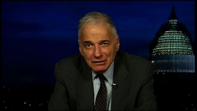 Consumer Advocate Ralph Nader
