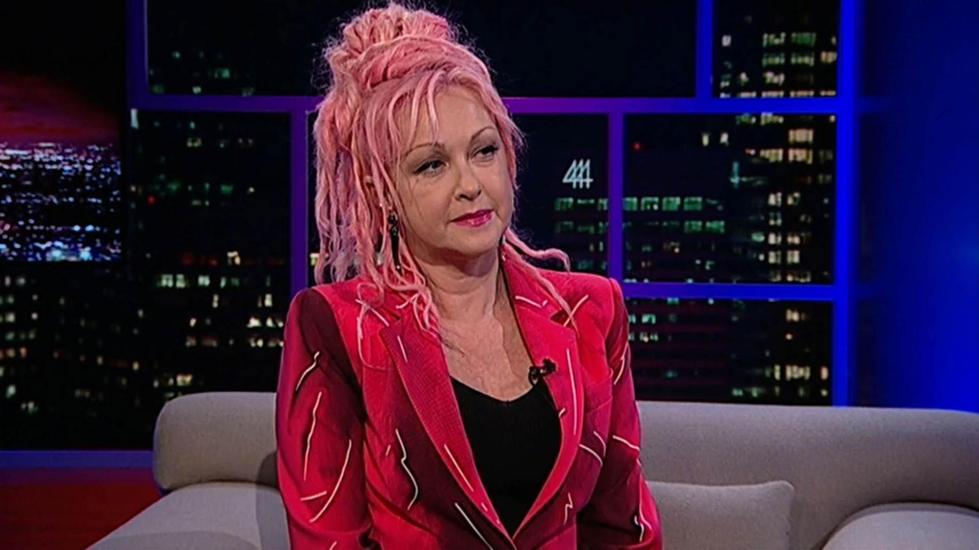 Singer-songwriter Cyndi Lauper, pt. 1